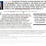 Interview met Proffesor Dr. Erik Scherder